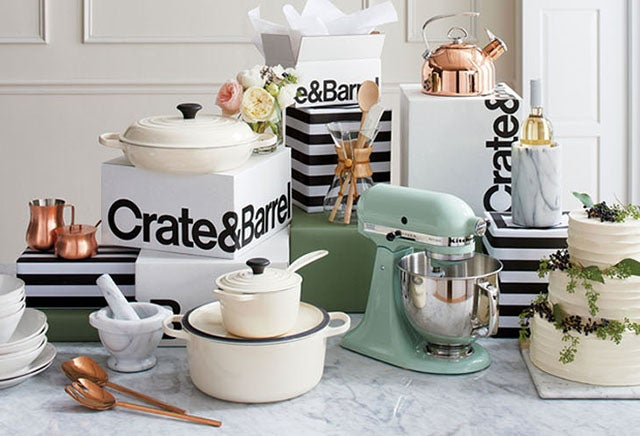 Crate and Barrel Event Registry