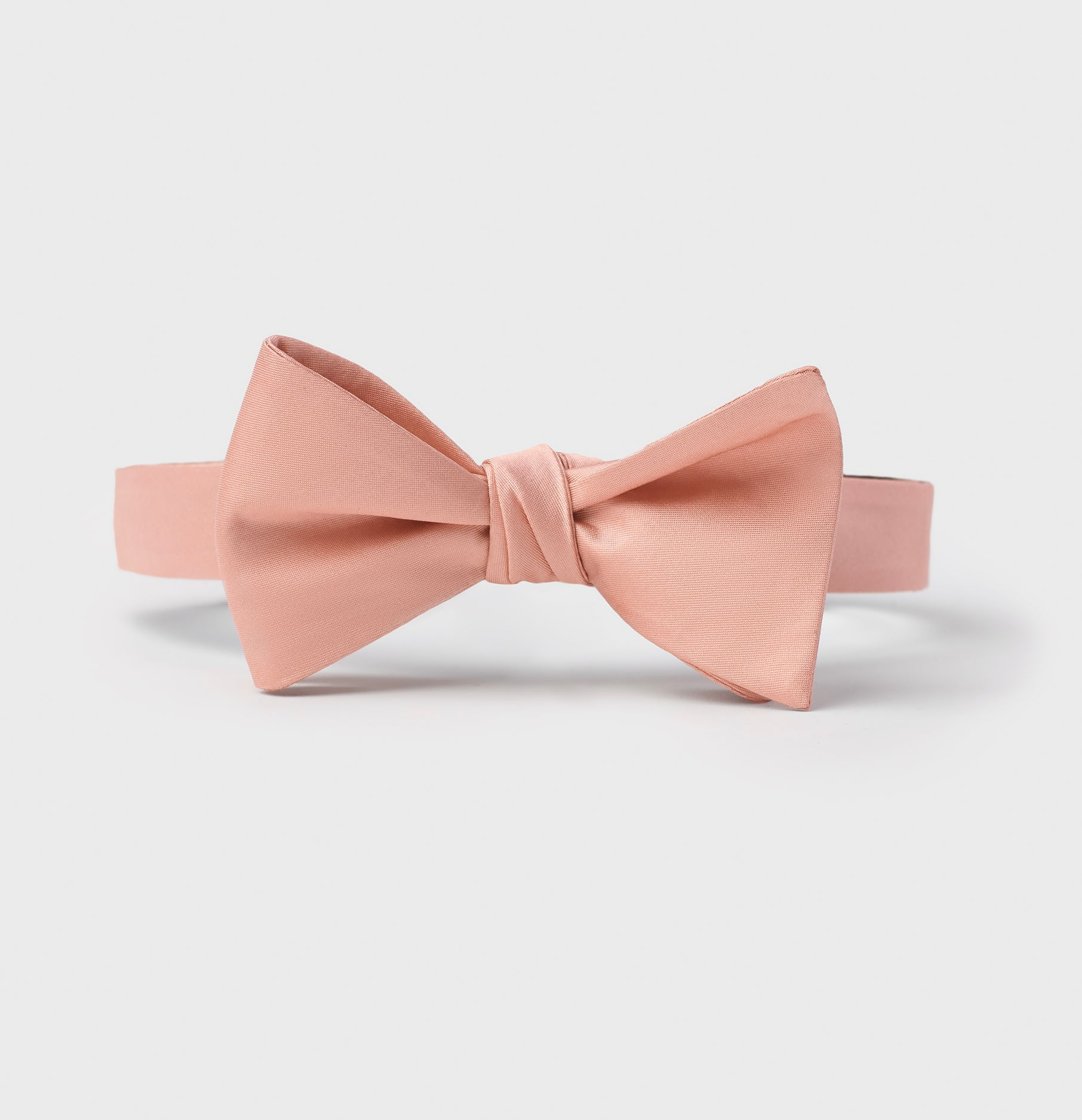 d2be5f0d1dcc Deep Peach Butterfly Bow Tie | The Black Tux