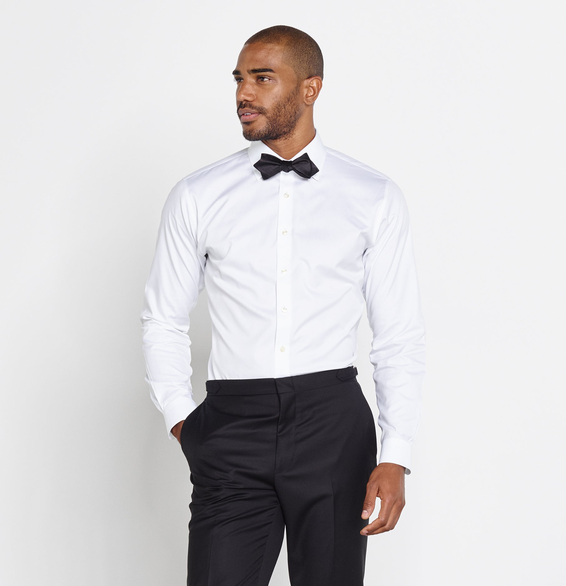 Cotton Dress Shirt | The Black Tux