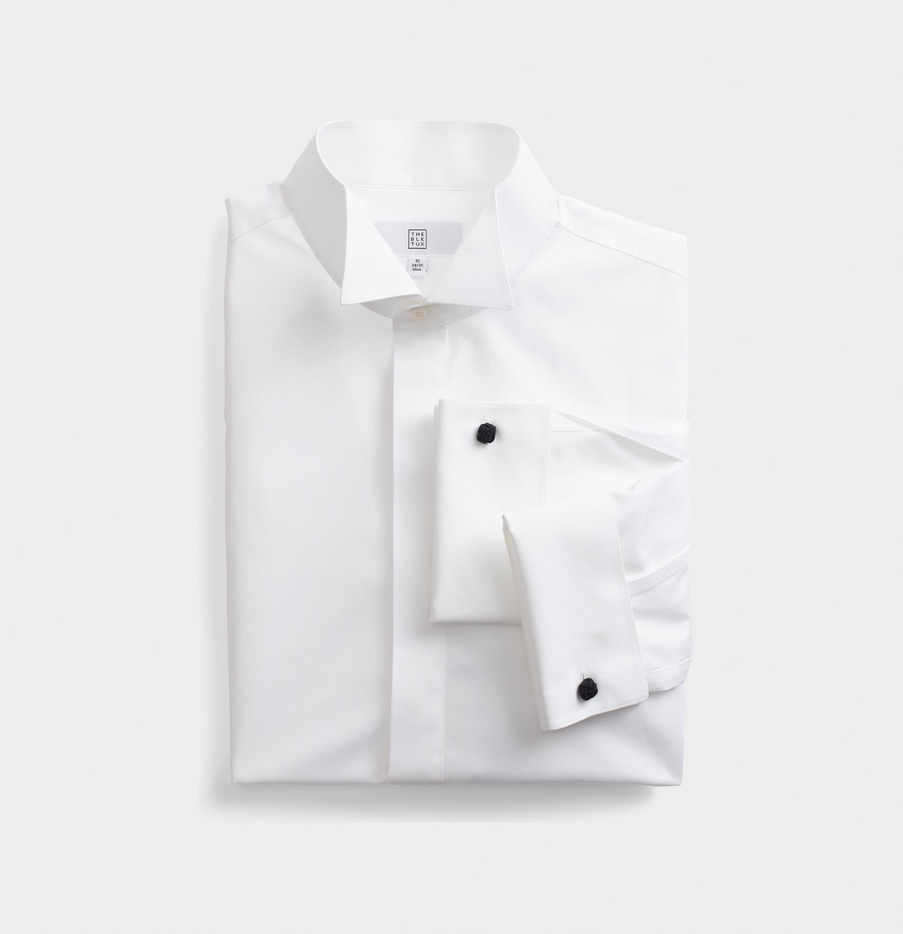 ea6fc1c0ef6ee Wing Collar Fly-Front Dress Shirt