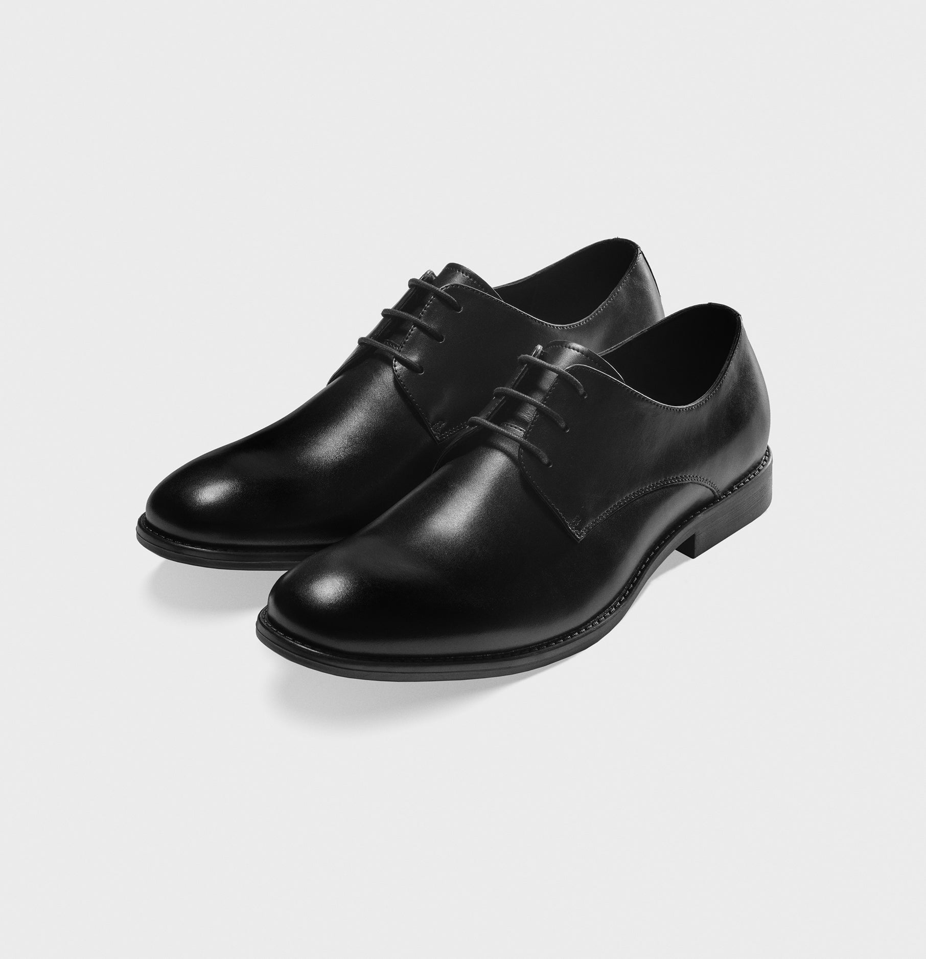 Black Leather Shoes | The Black Tux