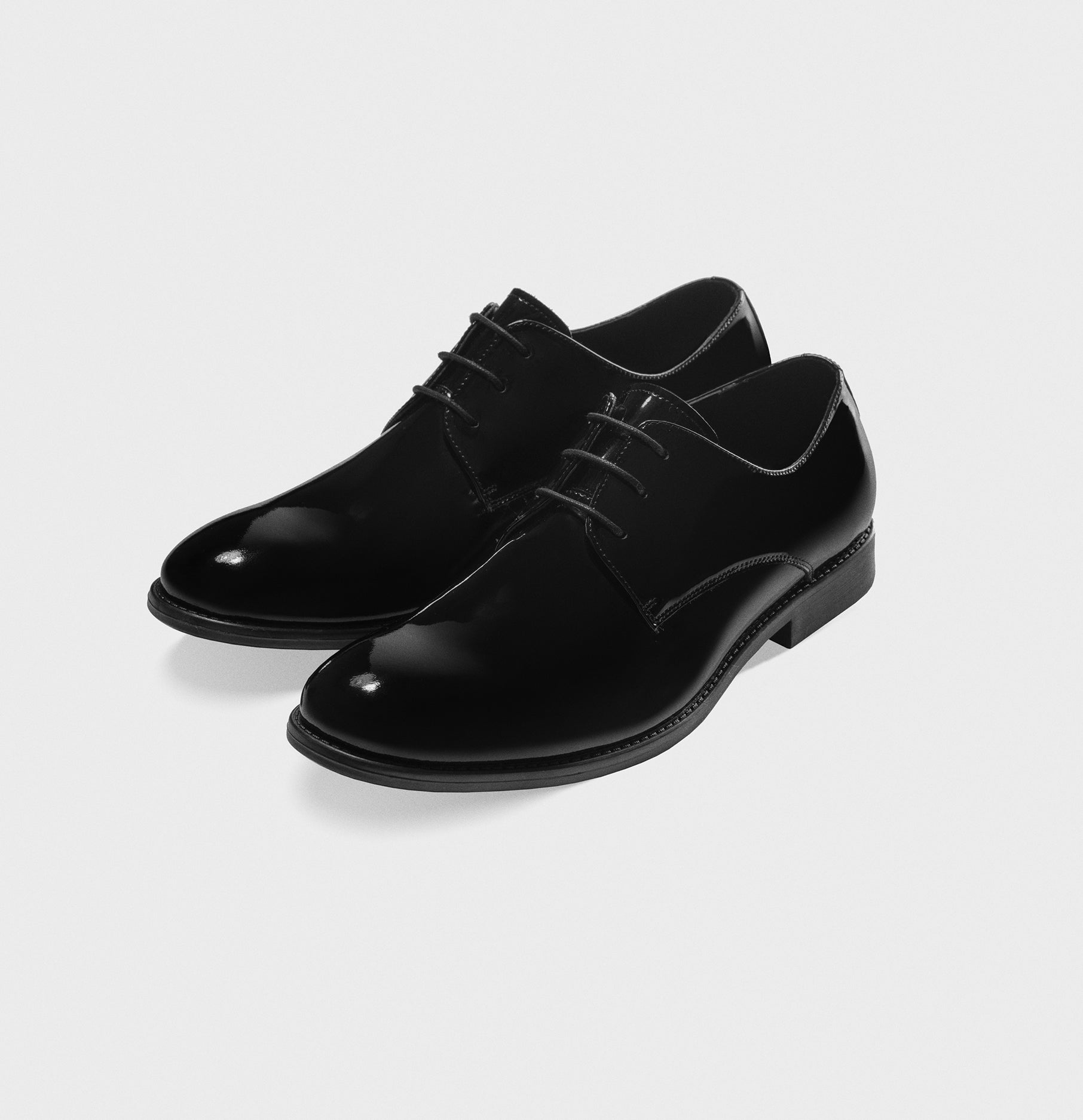 fc4767a9715aa Black Patent Leather Shoes