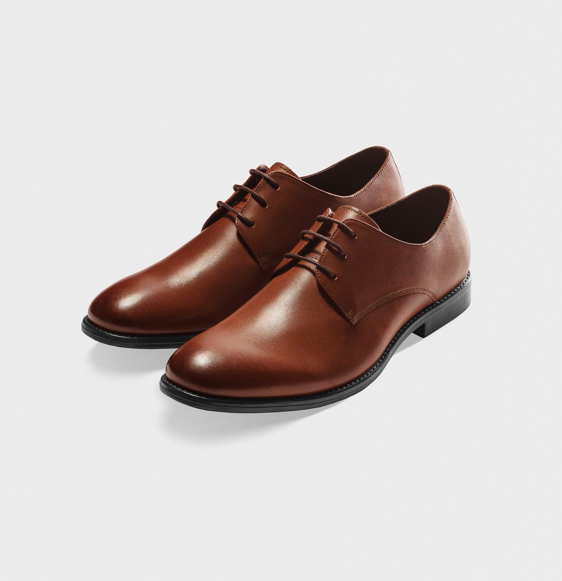 Brown Leather Shoes  332d7d703c8d