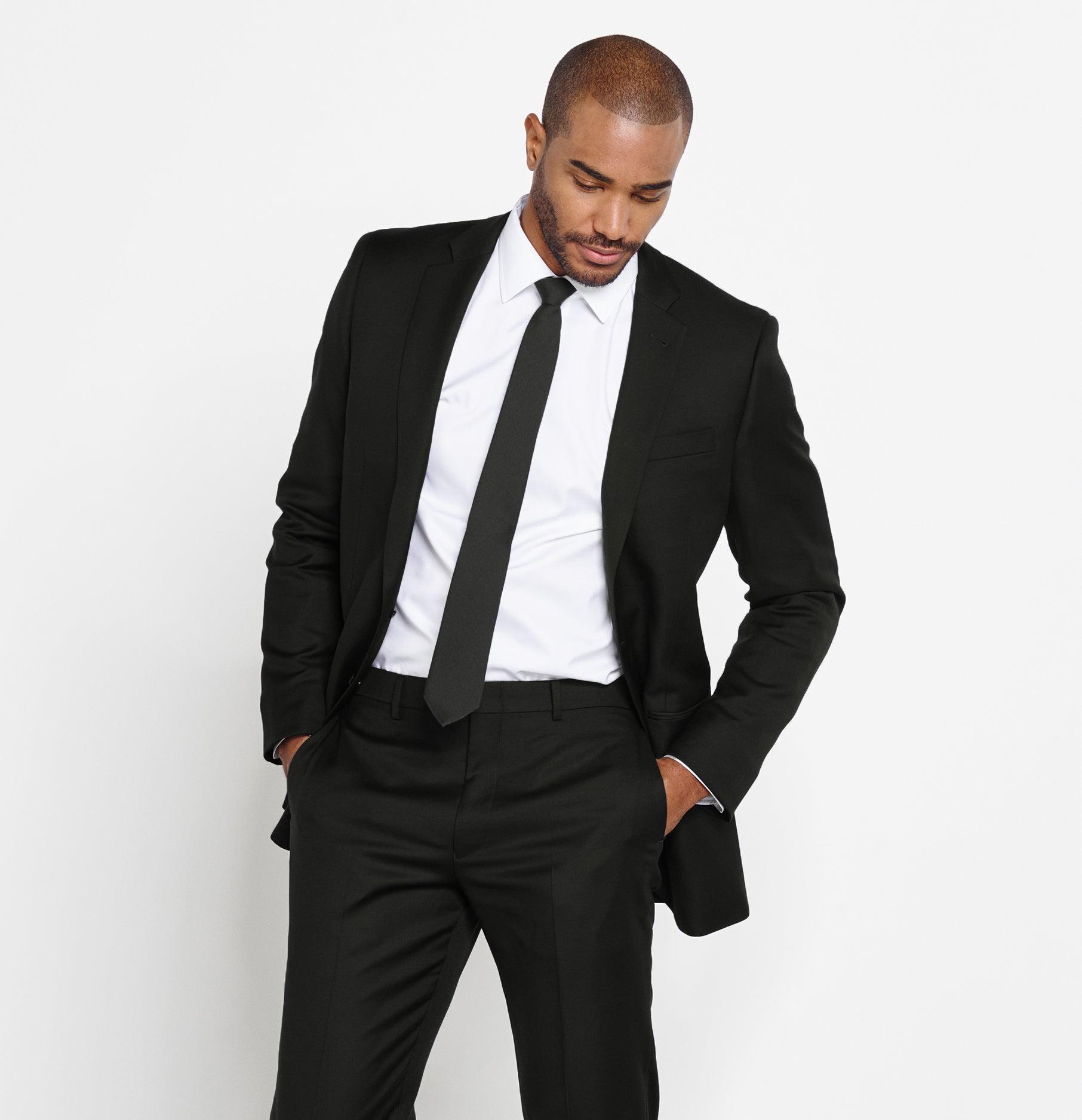 Black Complete Tuxedo Suit