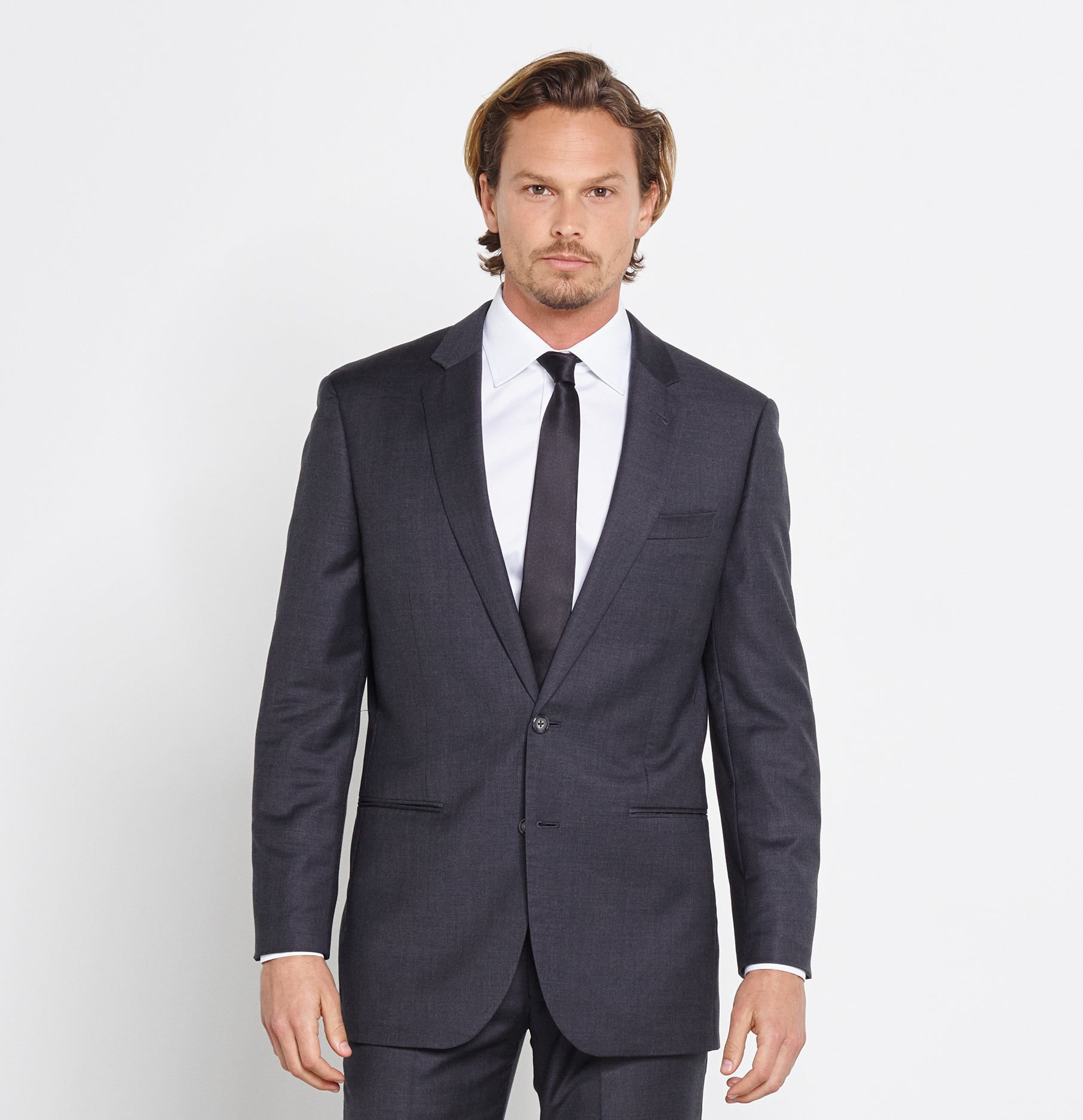 Charcoal Suit | The Black Tux