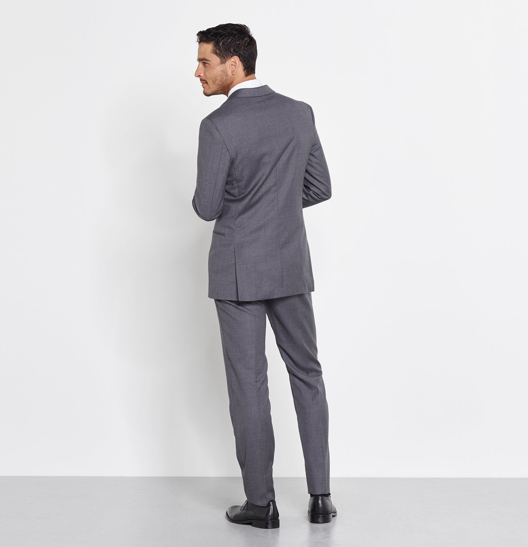 Grey Suit | The Black Tux