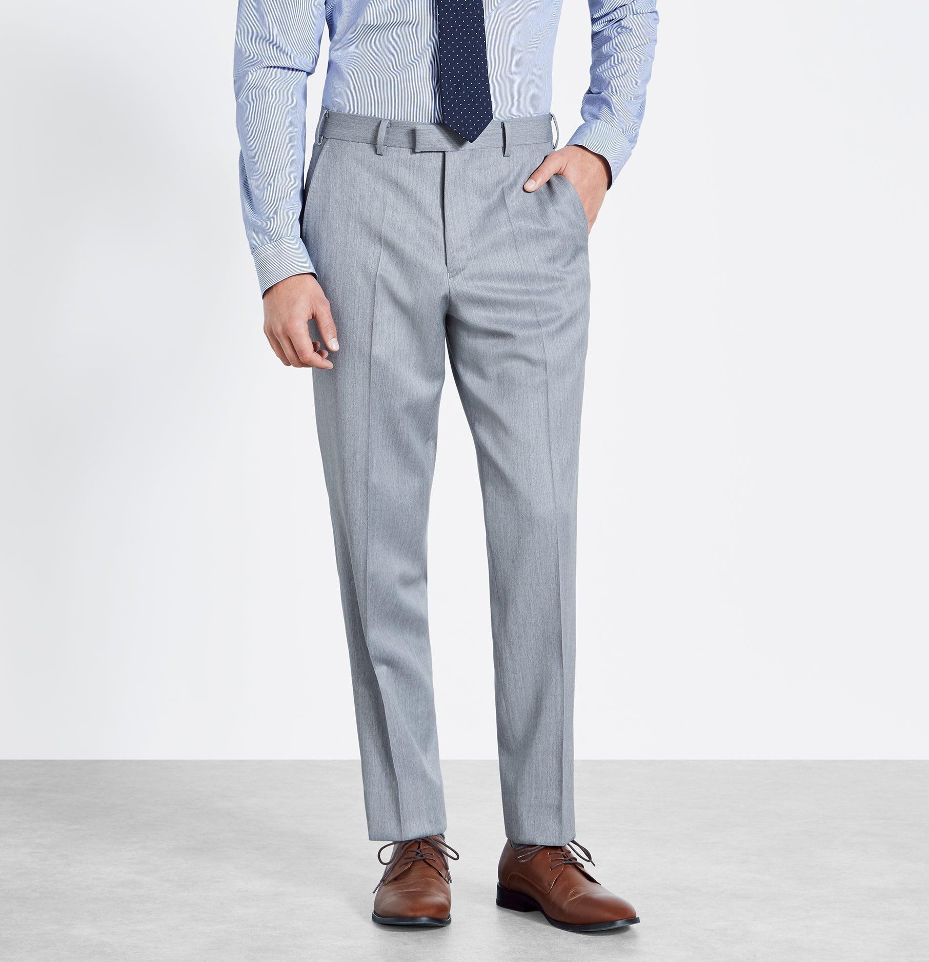 Light Grey Suit   The Black Tux