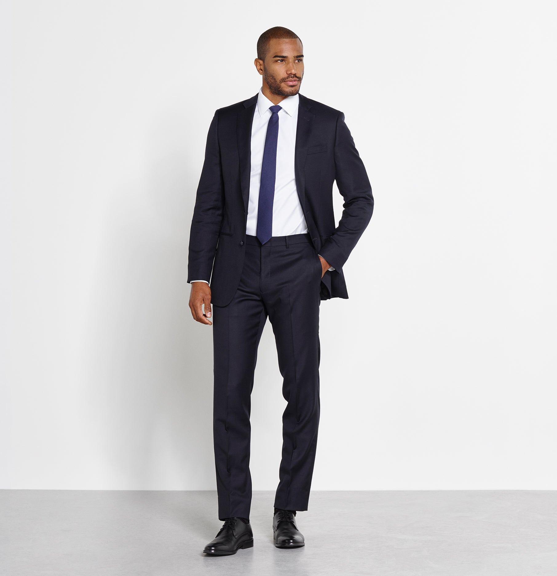 Navy Suit | The Black Tux