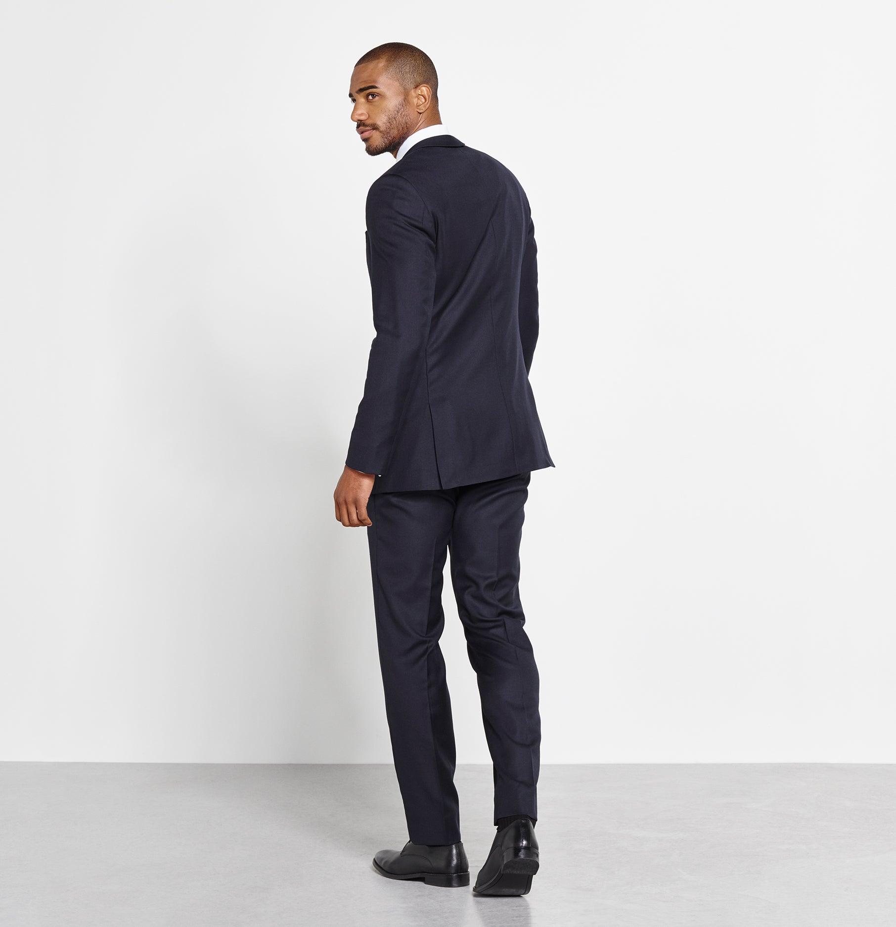 Navy Suit | The Black Tux