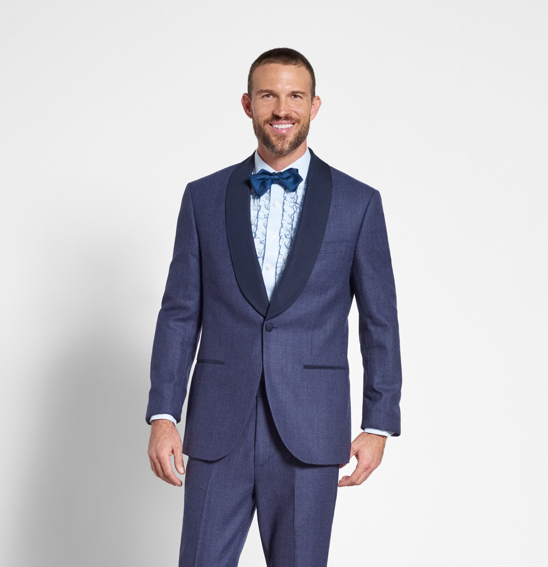 Tuxedos in Blue