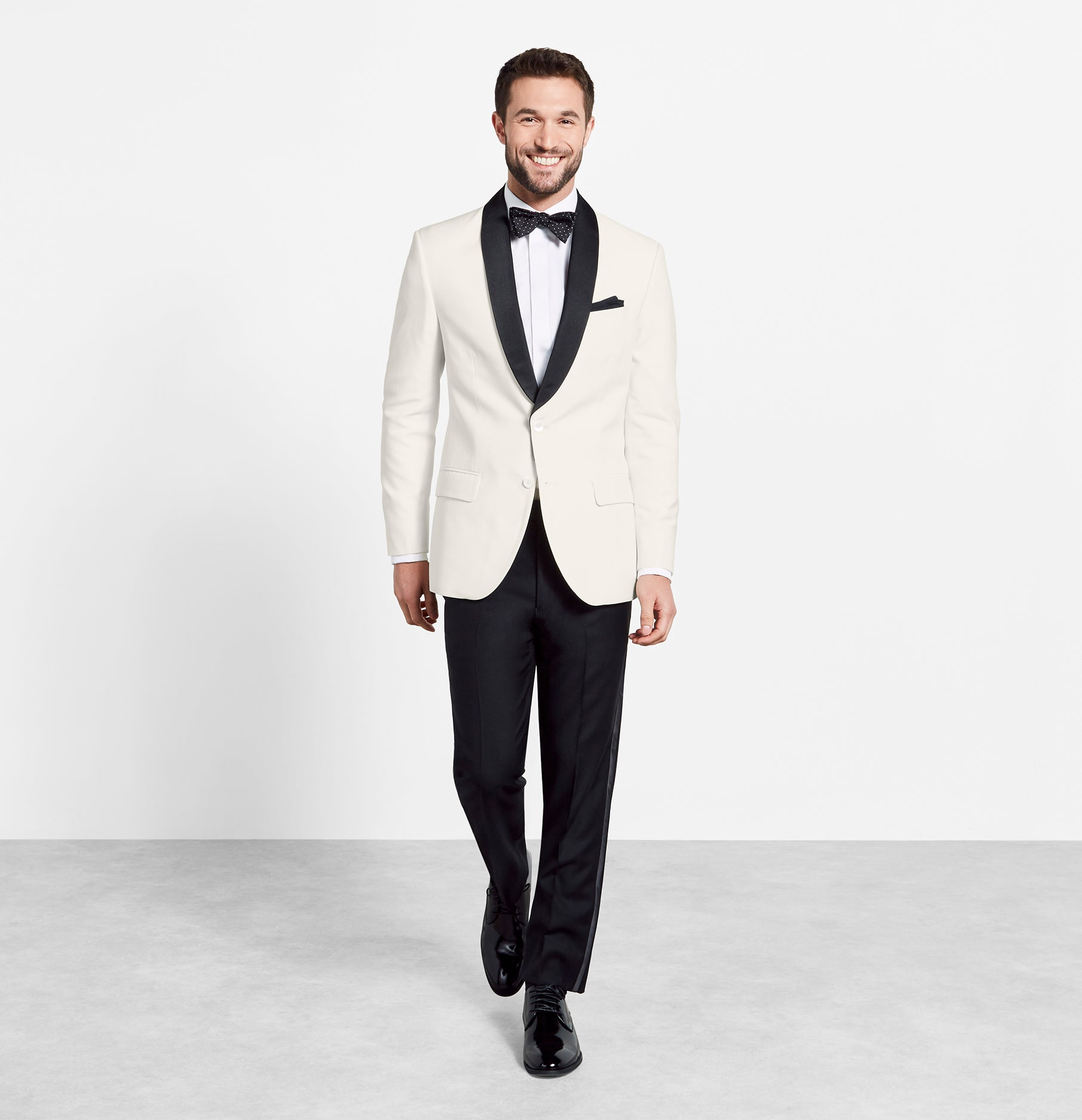 Contrast Shawl Jacket Tuxedo The Black Tux
