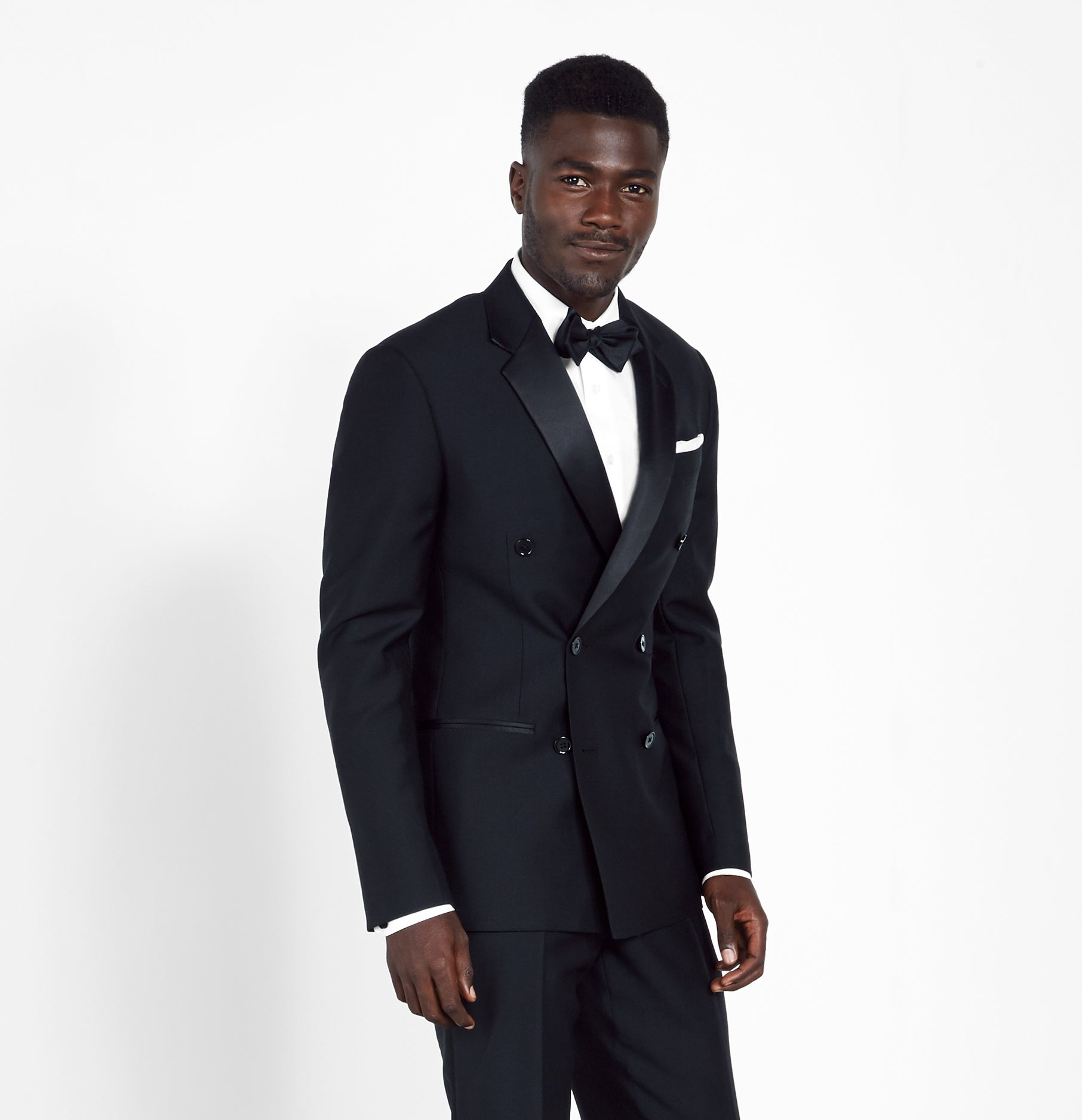Double Breasted Tuxedo The Black Tux