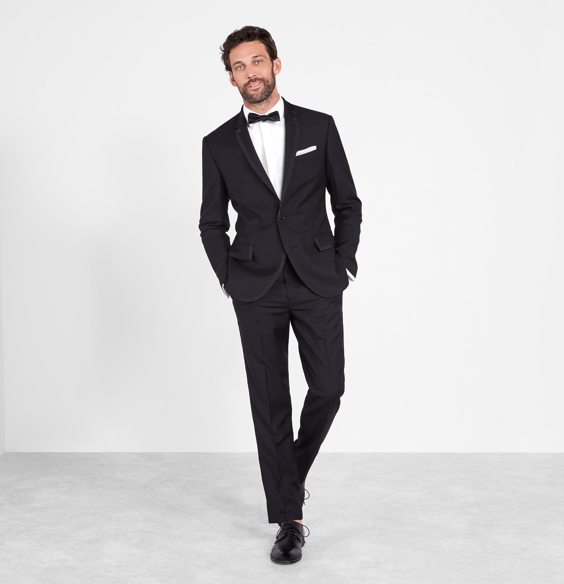 Tuxedo: Grosgrain Bound Tuxedo
