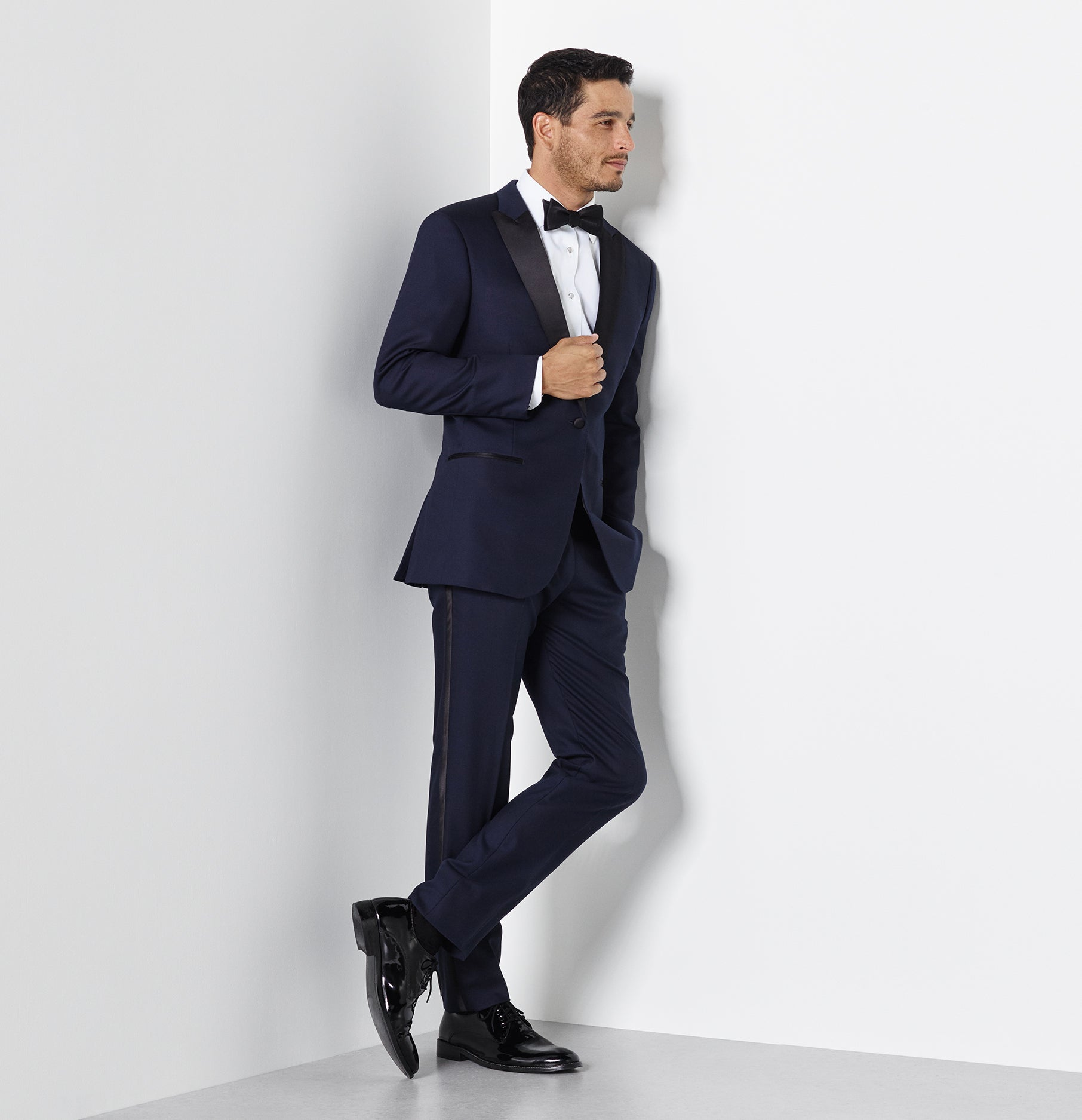 Midnight Blue Tuxedo | The Black Tux