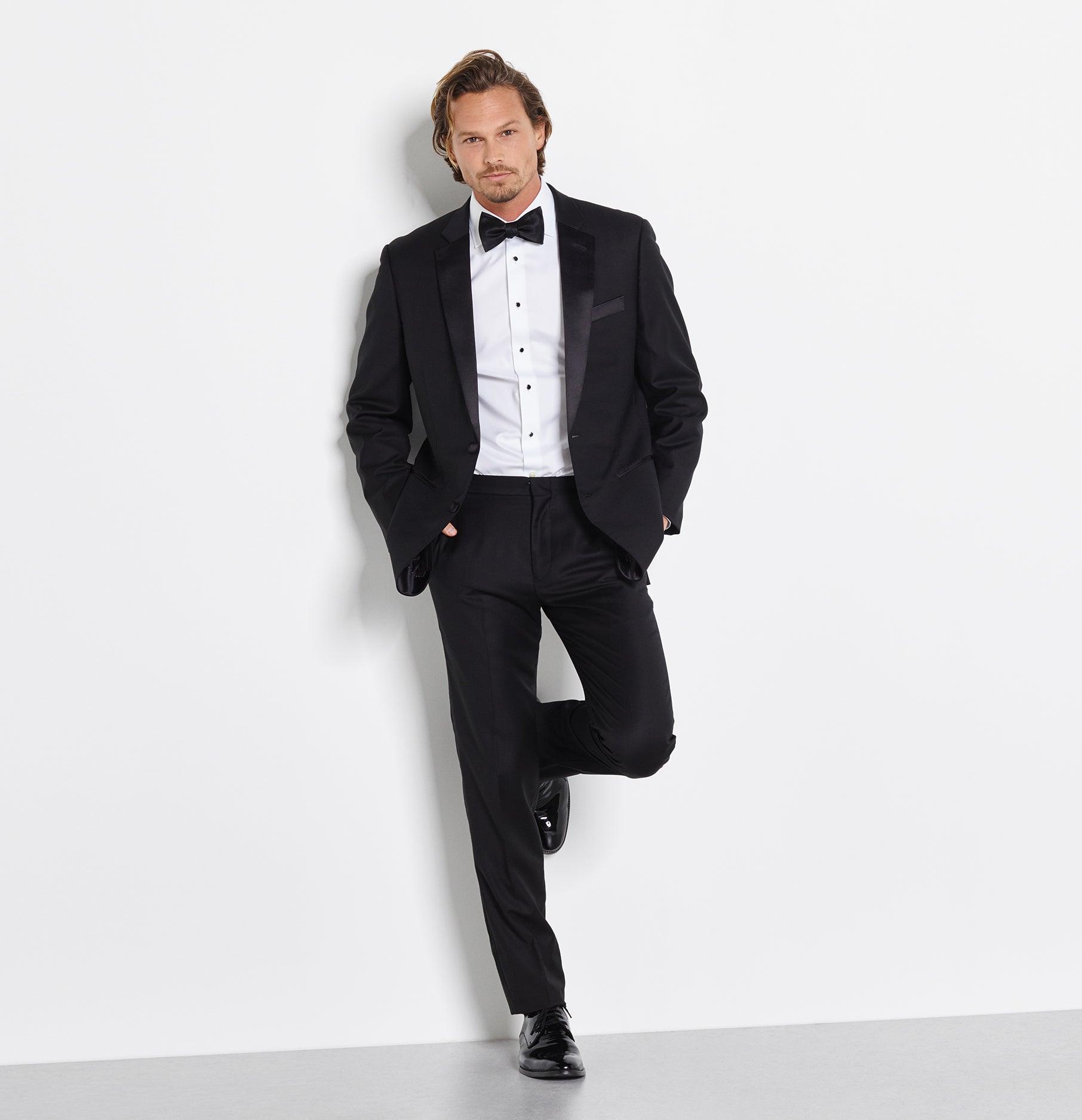Tuxedo suit rentals the black tux for The tux builder