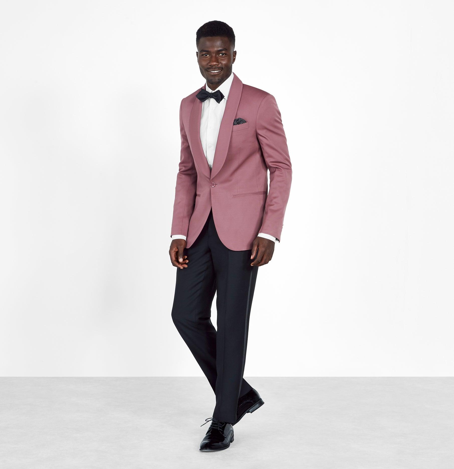 Blazers For Rent: Rose Shawl Jacket Tuxedo