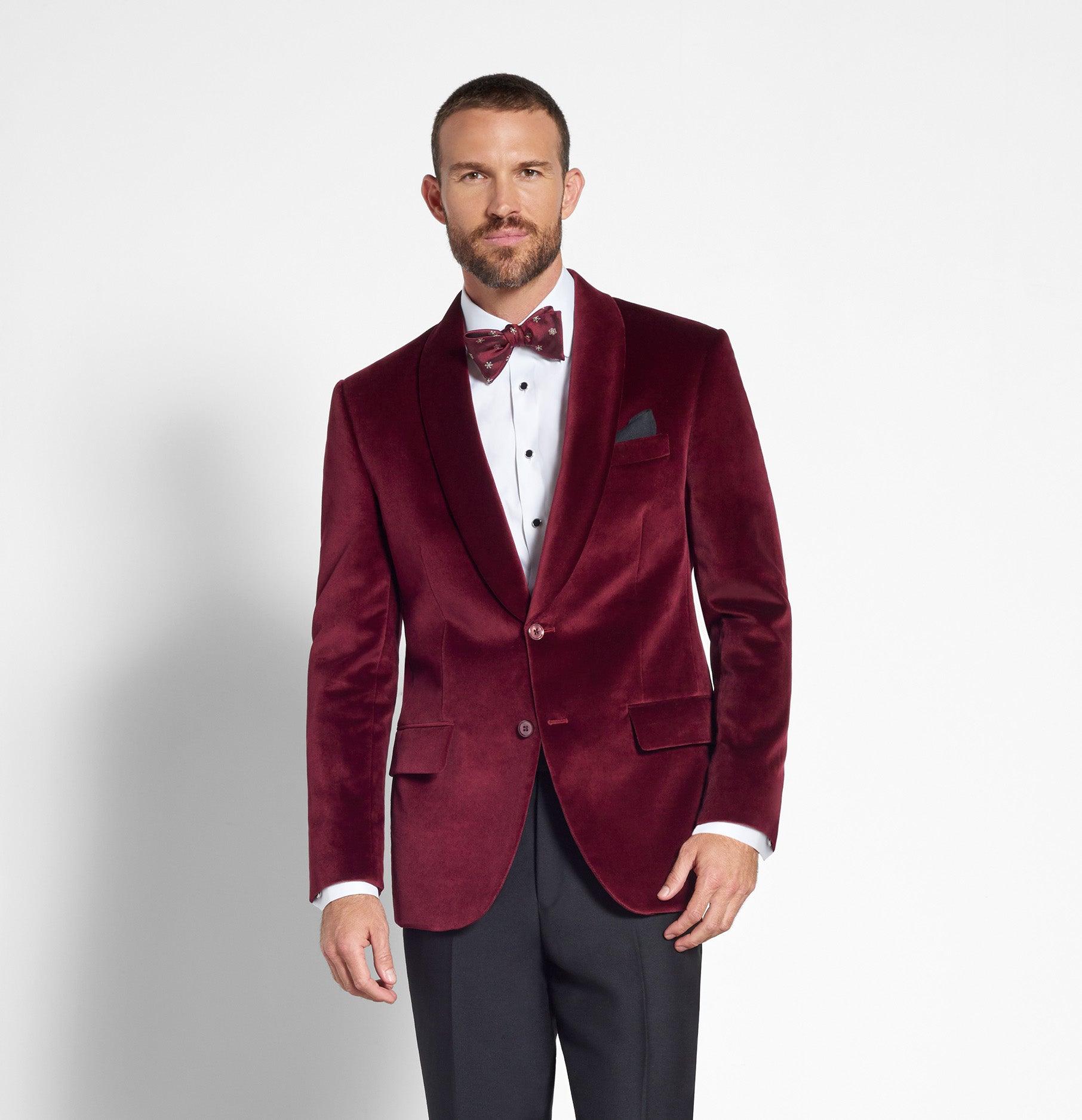 Blazers For Rent: Ruby Velvet Jacket Tuxedo