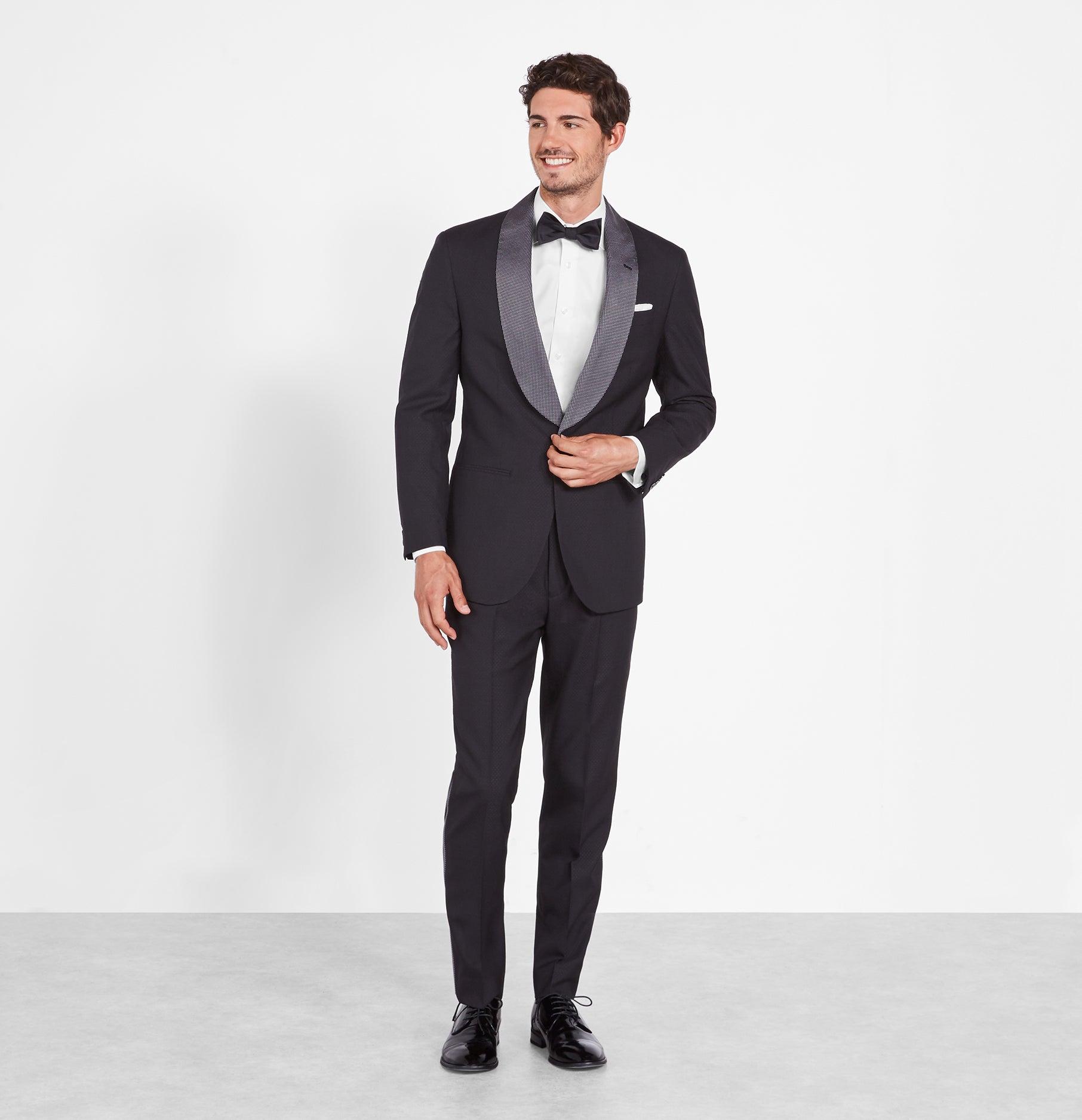 wedding planning - blk tux rental