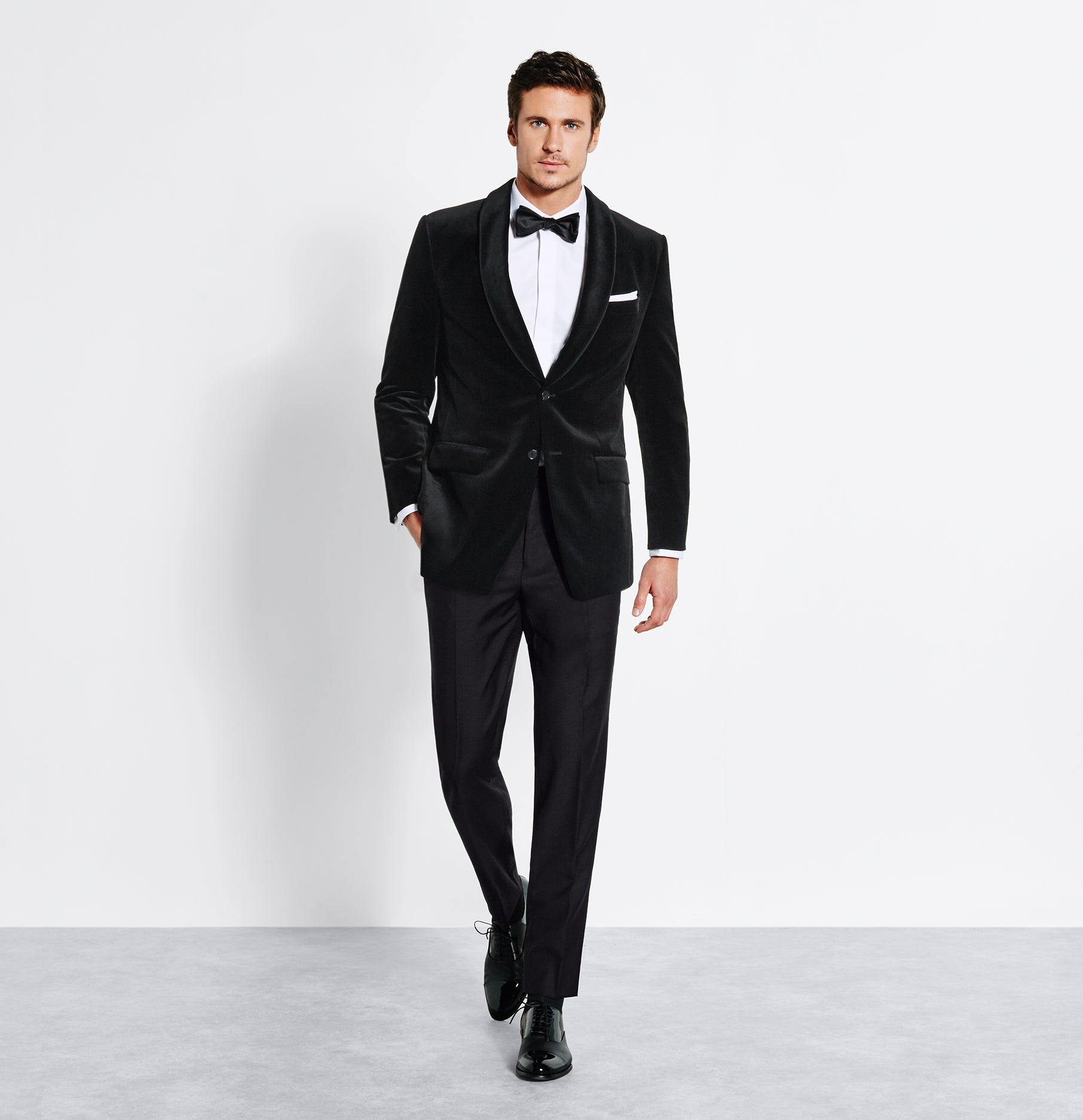 Velvet Jacket Tuxedo | The Black Tux
