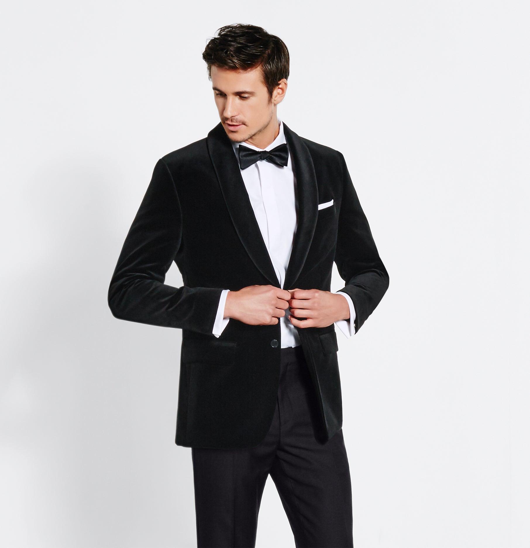 Blazers For Rent: Velvet Jacket Tuxedo