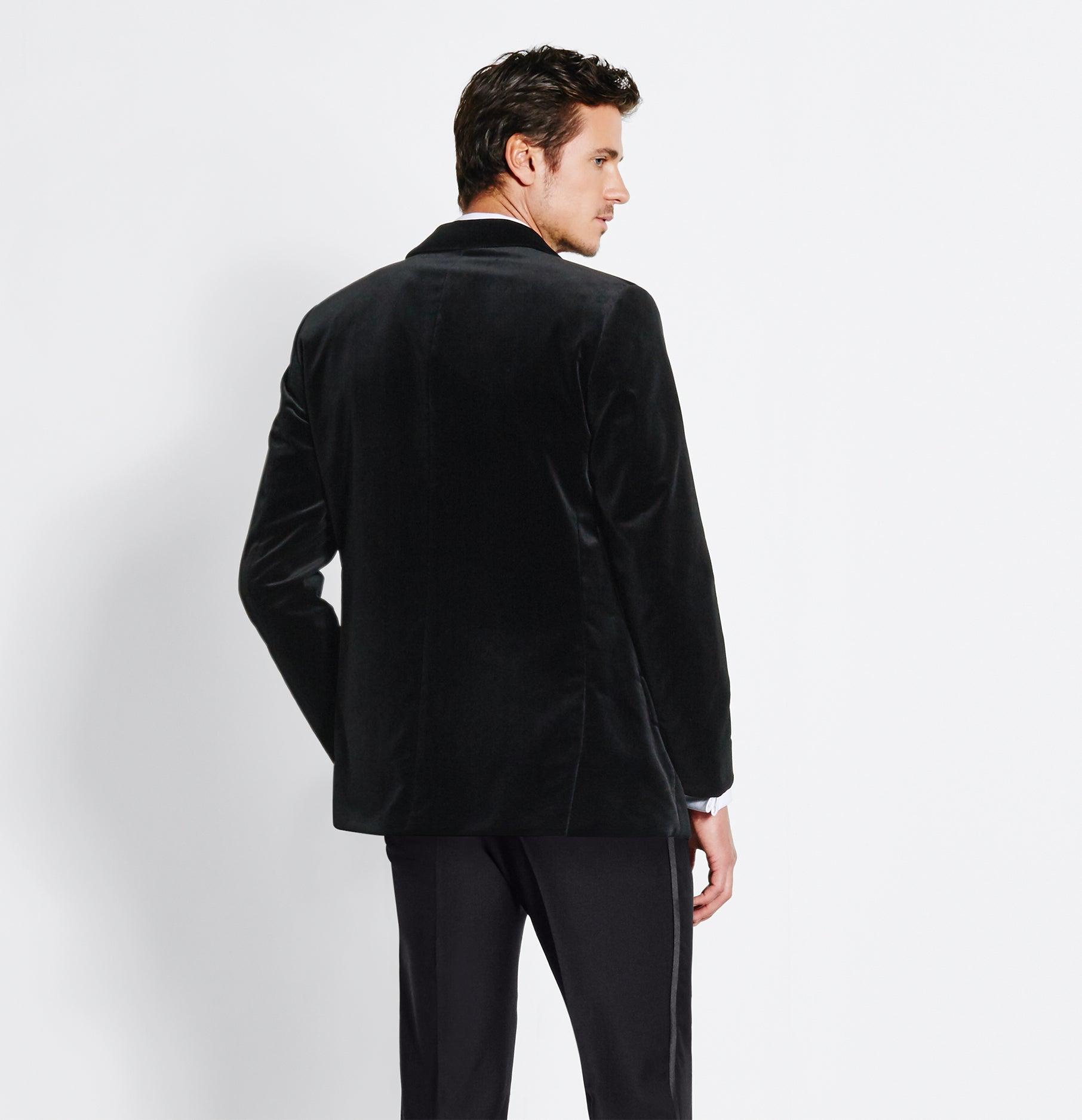 Velvet Jacket Tuxedo | The Black Tux