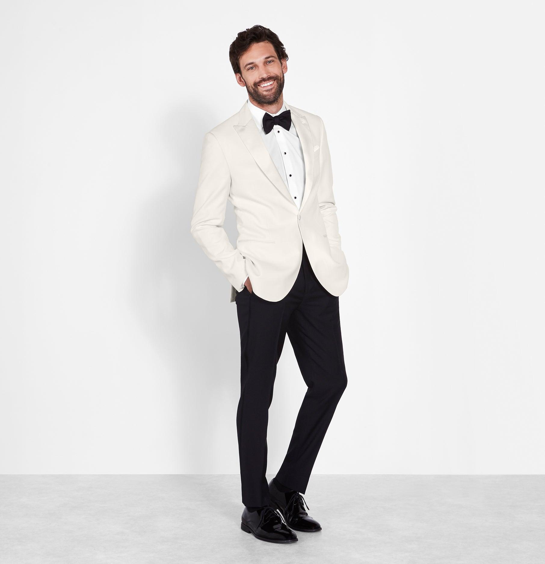 f5a03706275 White Dinner Jacket Tuxedo | The Black Tux